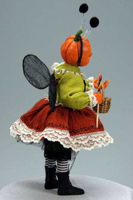 Trick-Or-Treat - One-Of-A-Kind Doll by Tanya Abaimova. Creatures Gallery