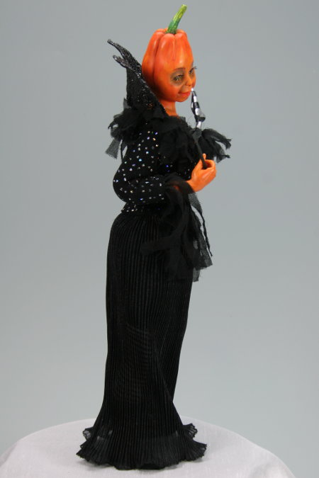 Halloween Masquerade - One-Of-A-Kind Doll by Tanya Abaimova. Creatures Gallery
