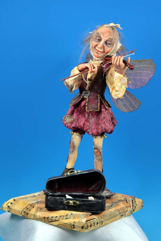 Tooth Fairy - One-Of-A-Kind Doll by Tanya Abaimova. Creatures Gallery