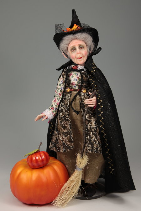 Pumpkinella - One-Of-A-Kind Doll by Tanya Abaimova. Ball-Jointed Dolls Gallery