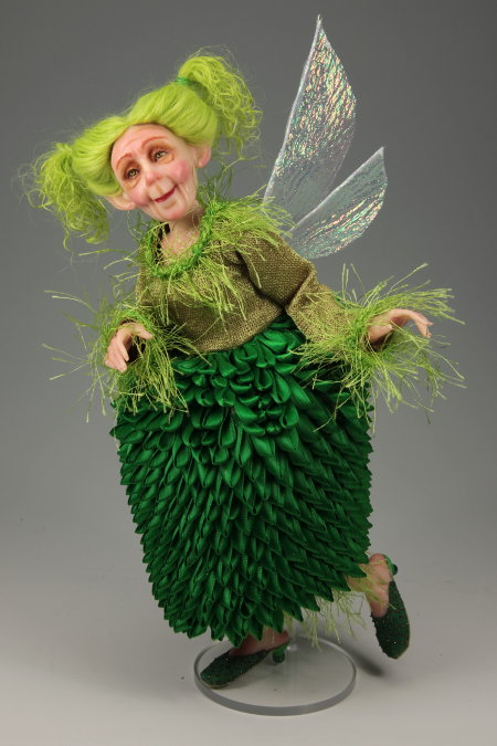 Mrs. Pinecone - One-Of-A-Kind Doll by Tanya Abaimova. Ball-Jointed Dolls Gallery