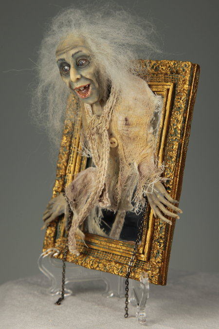 Ghost in a Mirror - One-Of-A-Kind Doll by Tanya Abaimova. Creatures Gallery