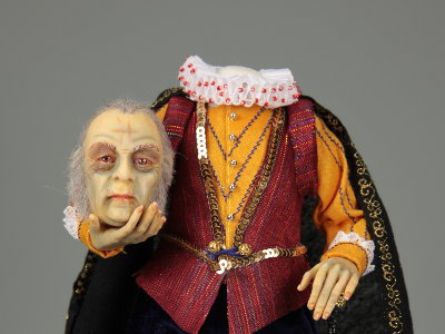 Headless Count - One-of-a-kind Art Doll by Tanya Abaimova