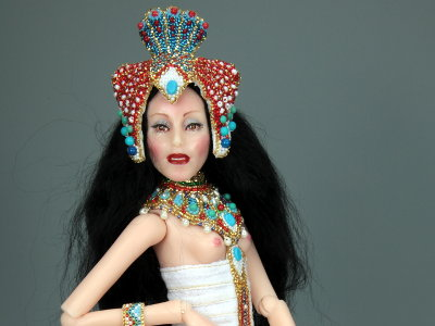 Lotus - One-of-a-kind Art Doll by Tanya Abaimova