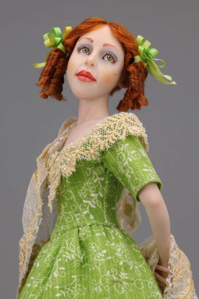 Country Summer - One-Of-A-Kind Doll by Tanya Abaimova. Characters Gallery
