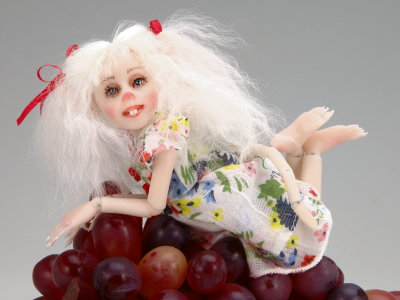 Snow White - One-of-a-kind Art Doll by Tanya Abaimova