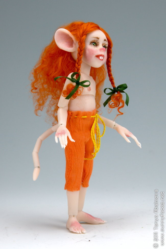 Pumpkin - One-Of-A-Kind Doll by Tanya Abaimova. Ball-Jointed Dolls Gallery
