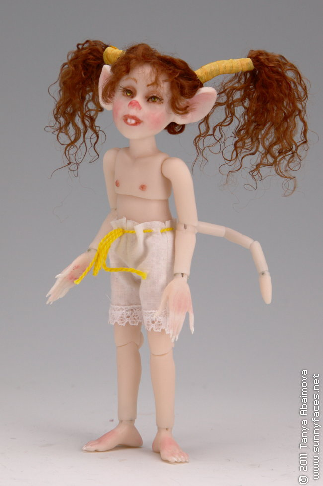 Cookie - One-Of-A-Kind Doll by Tanya Abaimova. Ball-Jointed Dolls Gallery