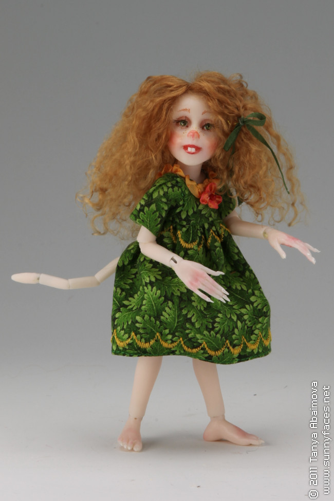 Amber - One-Of-A-Kind Doll by Tanya Abaimova. Ball-Jointed Dolls Gallery