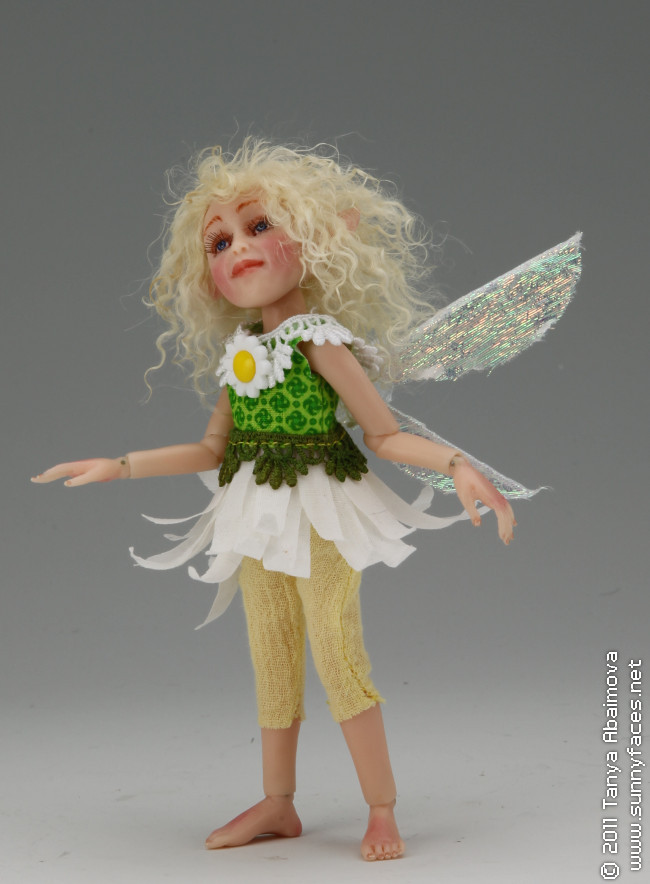 Daisy - One-Of-A-Kind Doll by Tanya Abaimova. Ball-Jointed Dolls Gallery