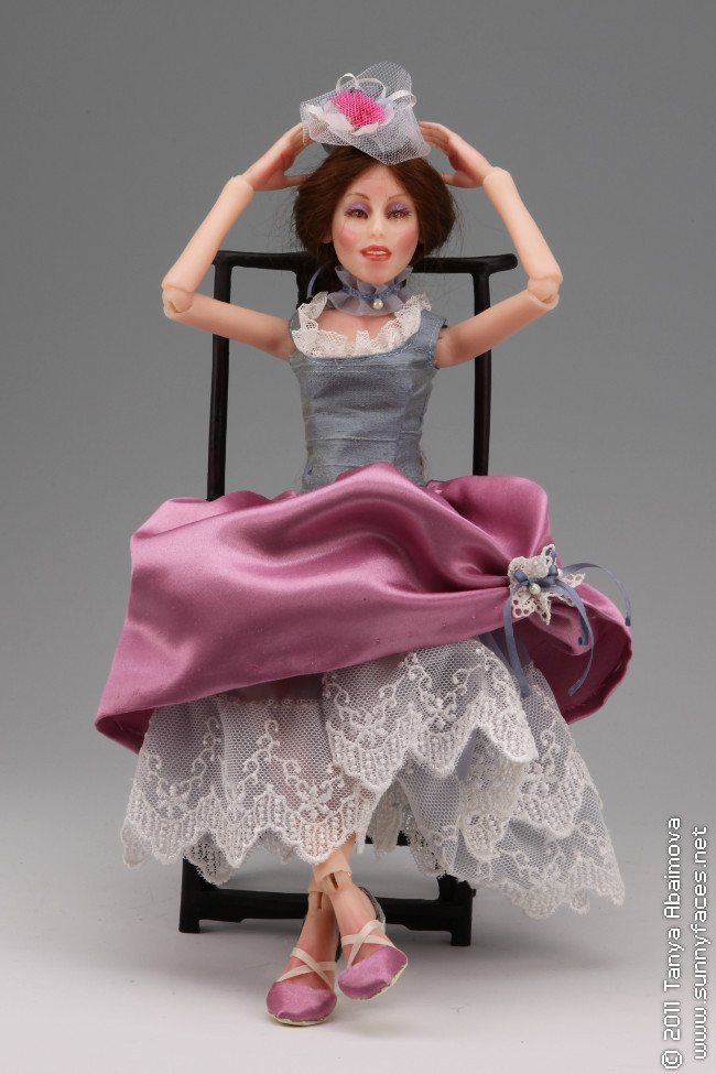 July - One-Of-A-Kind Doll by Tanya Abaimova. Ball-Jointed Dolls Gallery