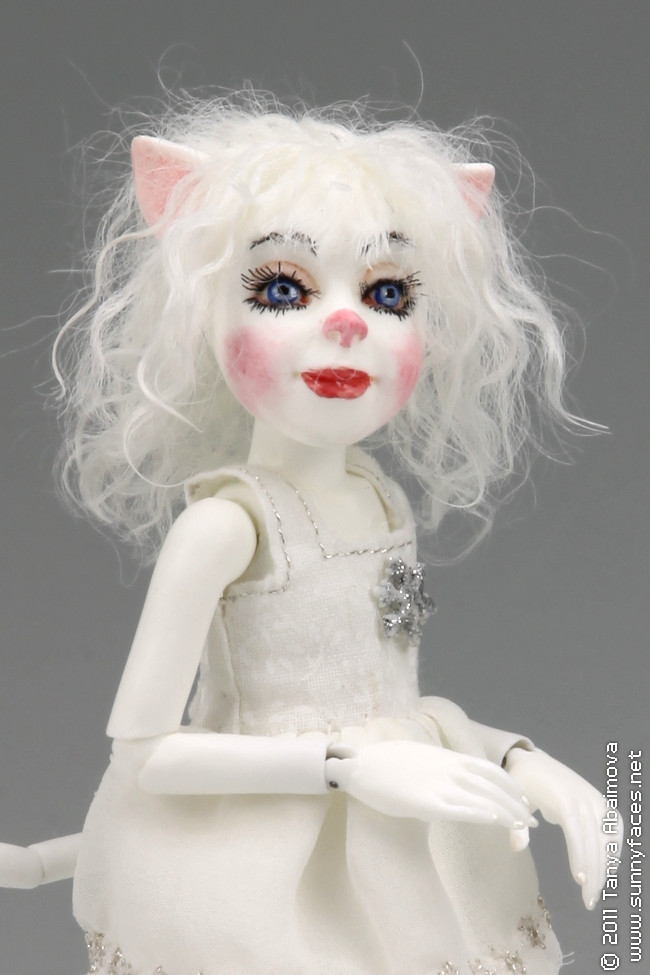 Snowflake - One-Of-A-Kind Doll by Tanya Abaimova. Ball-Jointed Dolls Gallery
