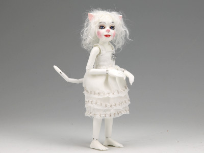 Snowflake - One-of-a-kind Art Doll by Tanya Abaimova