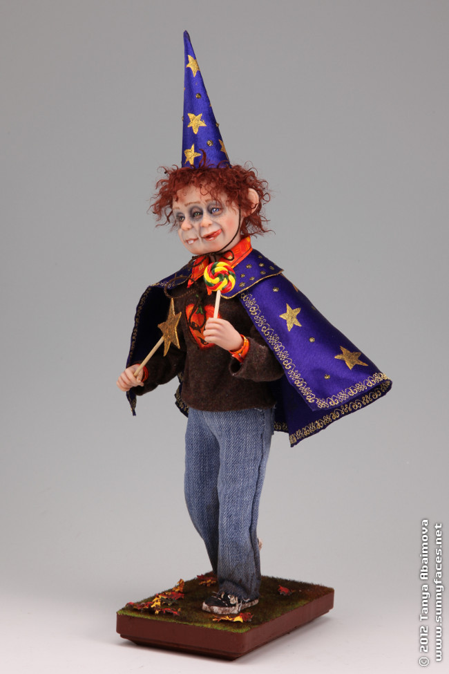 Tim and Tom's Halloween Magic - One-Of-A-Kind Doll by Tanya Abaimova. Characters Gallery