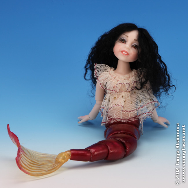Coral - One-Of-A-Kind Doll by Tanya Abaimova. Ball-Jointed Dolls Gallery