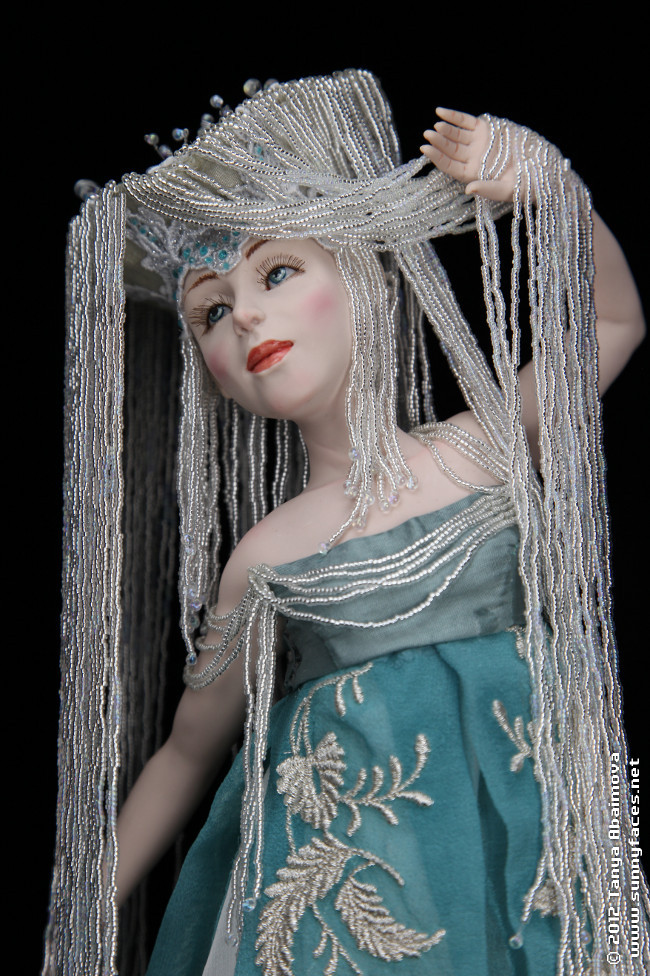 Dancing Waterfall - One-Of-A-Kind Doll by Tanya Abaimova. Characters Gallery