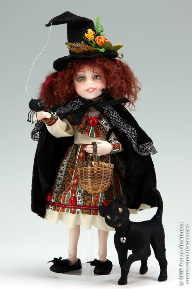 Matilda - One-Of-A-Kind Doll by Tanya Abaimova. Ball-Jointed Dolls Gallery