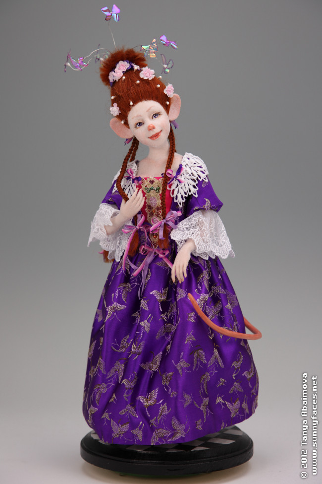Chedderette D'Fromage - One-Of-A-Kind Doll by Tanya Abaimova. Creatures Gallery