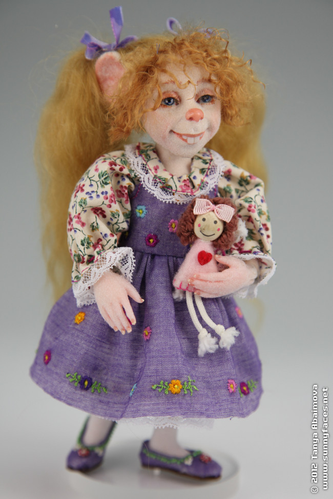Joy - One-Of-A-Kind Doll by Tanya Abaimova. Creatures Gallery