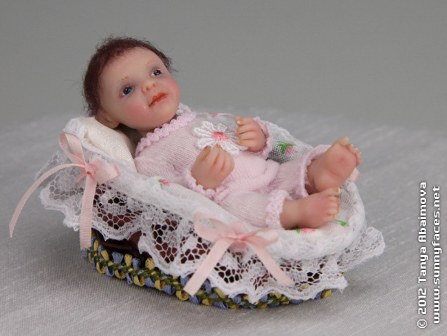 Cutie Pie - One-Of-A-Kind Doll by Tanya Abaimova. Characters Gallery