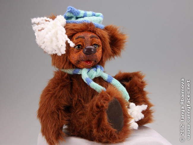 Honey - One-Of-A-Kind Doll by Tanya Abaimova. Soft Sculptures Gallery