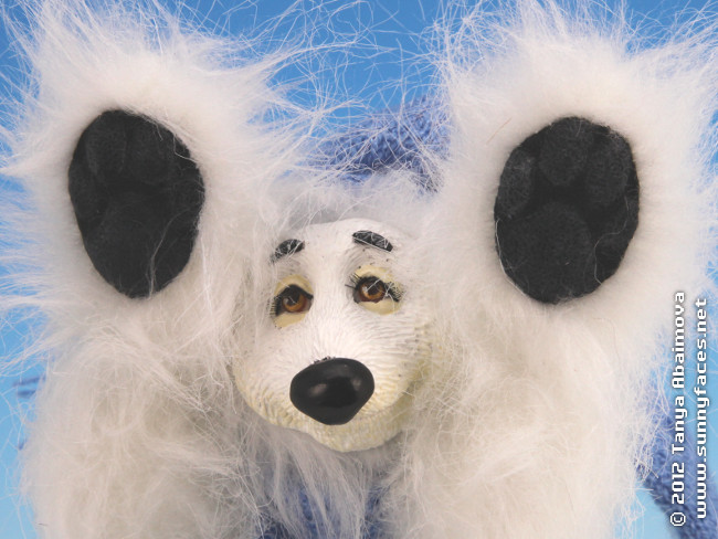 Snow - One-Of-A-Kind Doll by Tanya Abaimova. Soft Sculptures Gallery
