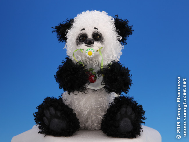 Bo - One-Of-A-Kind Doll by Tanya Abaimova. Soft Sculptures Gallery