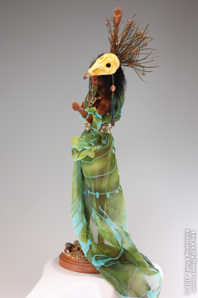 Southern Wind - One-Of-A-Kind Doll by Tanya Abaimova. Characters Gallery