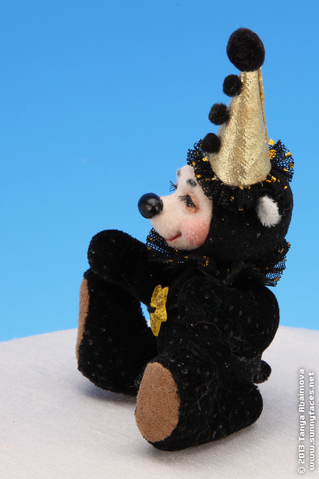Little Star - One-Of-A-Kind Doll by Tanya Abaimova. Soft Sculptures Gallery