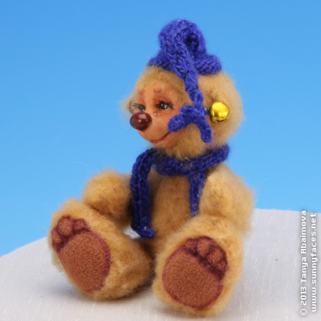 Willy - One-Of-A-Kind Doll by Tanya Abaimova. Soft Sculptures Gallery