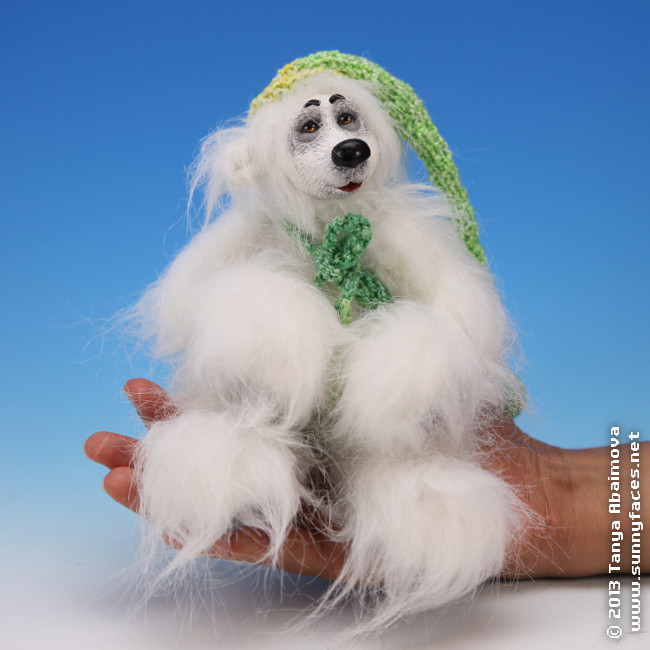 Jimmy - One-Of-A-Kind Doll by Tanya Abaimova. Soft Sculptures Gallery