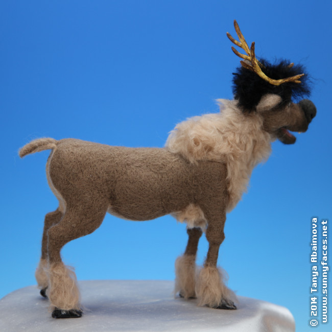 Sven - One-Of-A-Kind Doll by Tanya Abaimova. Soft Sculptures Gallery