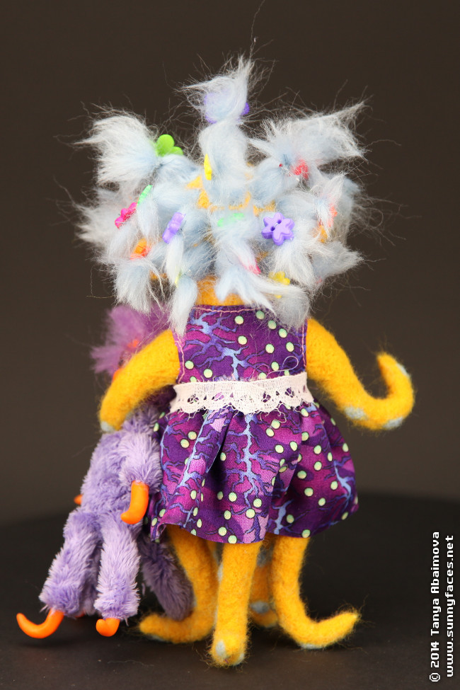 Lu-Lu - One-Of-A-Kind Doll by Tanya Abaimova. Soft Sculptures Gallery