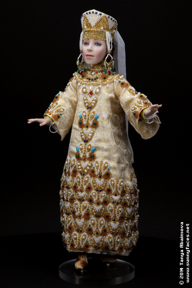 Svetlana - One-Of-A-Kind Doll by Tanya Abaimova. Characters Gallery