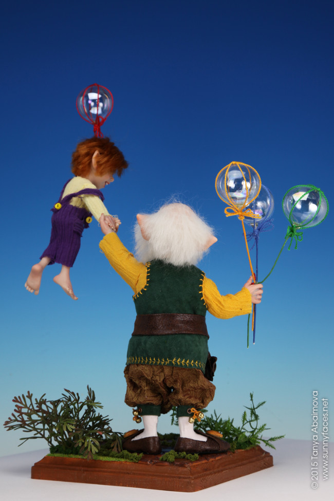 Balloons - One-Of-A-Kind Doll by Tanya Abaimova. Characters Gallery