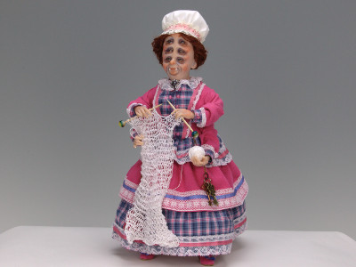 Mrs. Lightfoot - One-of-a-kind Art Doll by Tanya Abaimova