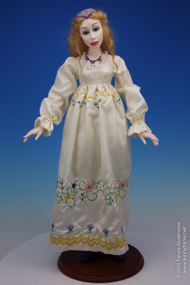 Rebecca - One-Of-A-Kind Doll by Tanya Abaimova. Characters Gallery