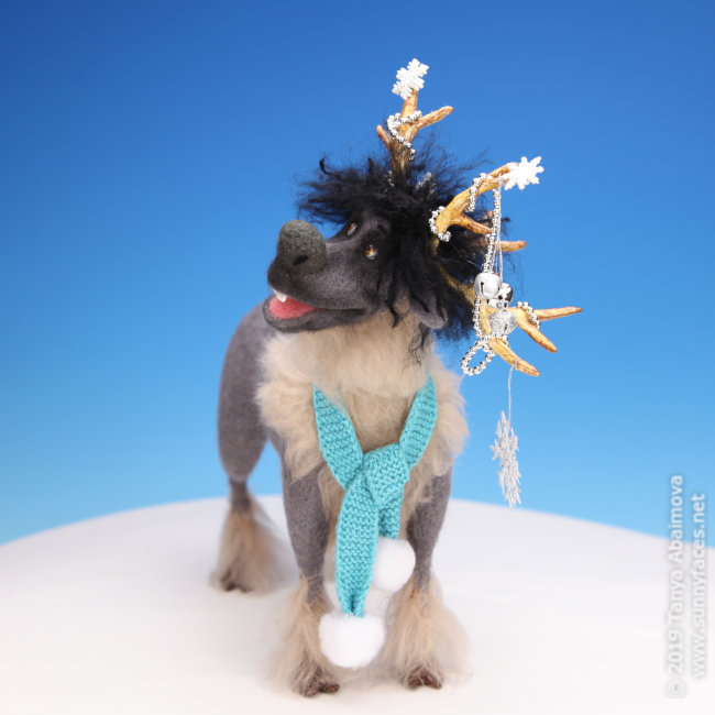 Lars - One-Of-A-Kind Doll by Tanya Abaimova. Soft Sculptures Gallery