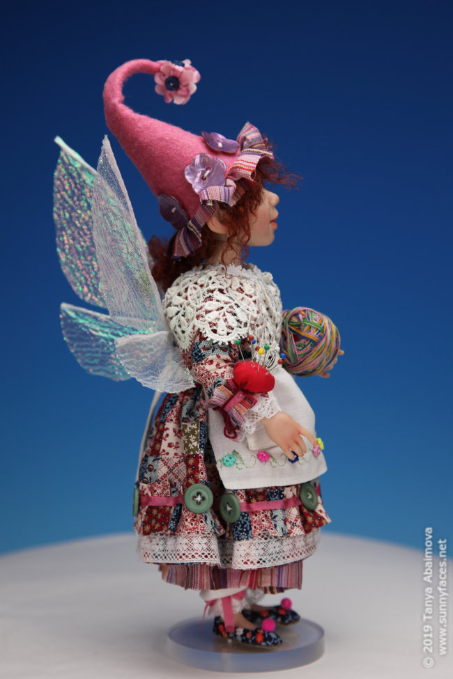 Button - One-Of-A-Kind Doll by Tanya Abaimova. Creatures Gallery